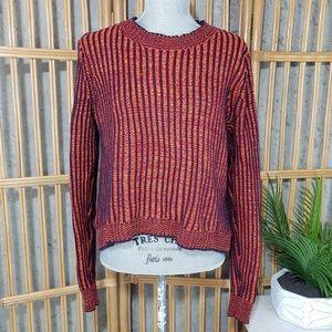 Cabi Melange Lava Knitted Stripe Sweater